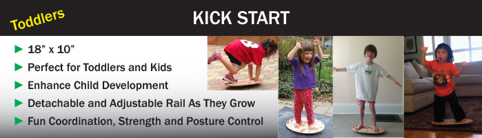 Kick Start Balance Board for Toddlers and Child Development
