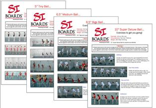 Si Boards Medicine Ball Posters